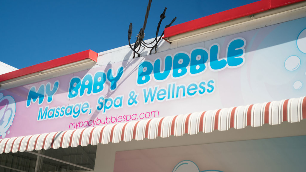 About My Baby Bubble Spa Franchise
