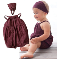romper suit and head band