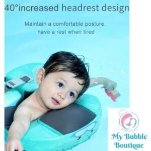 Splish Mambo Baby underarm Ring Float My Baby Bubble Spa My Bubble Boutique 40 Headrest 2